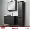 Color bright hot sale home use and hotel use german style bathroom vanity furniture