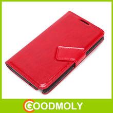 Slim Flip Genuine leather case for samsung galaxy N7100 note2