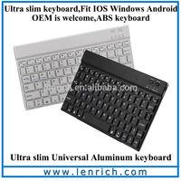 LBK122 Best bluetooth mini external small tablet case mechanical keyboard