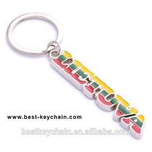souvenir lietuva metal monogram keychain (BK11658)