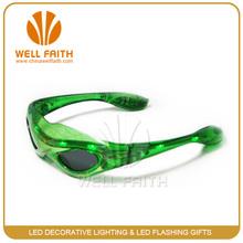 fashion el flashing light glasses flashing glasses led glasses for christmas gifts