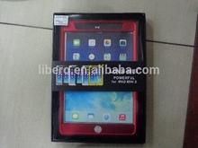 LOVE MEI Aluminum Bumper Waterproof Gorilla Glass Cover Case for Apple iPad Air