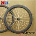 bicicleta de carbono baratos ruedas delantera trasera 38mm 50mm de fibra de carbono bicicleta de carretera ruedas