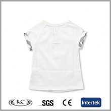 bulk wholesale italy white camo organic cotton baby t-shirt