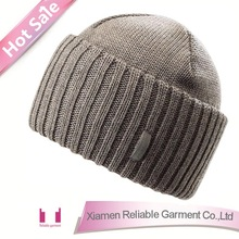 2015 new!!! men knitted beanie hat, custom knitted hat, cheap beanie hat