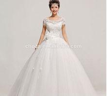 C24914A NEW DESIGN BRIDE BEAUTIFUL WEDDING DRESS