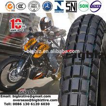 Pequeño neumático de la motocicleta, edredones de enduro neumático de la motocicleta de neumáticos 3.25-16
