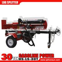 Horizontal/Vertical Log Splitter - 30-Ton, 200cc Honda GX200 Engine