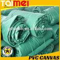 550 gsm ~ 1000 gsm a prueba de agua PVC recubierto de lona rollo