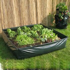 Garden Plastic Raised Bed Planter,Reusable PE Raised Bed Growing Planter