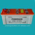 12v120ah standard jis batterie de voiture auto camion batterie chargée sèche