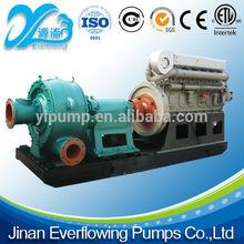 High head centrifugal sea water sand dredging pump