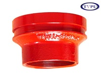 FM/UL DUCTILE IRON PIPE FITTINGS ECCENTRIC REDUCER COUPLING IN FIRE EXTINGUISH