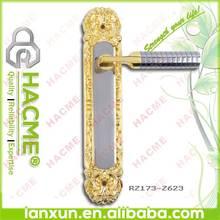 Chinese antique lock & iron plate door handles and locks
