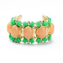 2014 Top Selling Wholesale Fashion Flower Bracelet With Zircon B10198