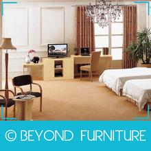Estilo moderno del dormitorio del hotel melamina muebles