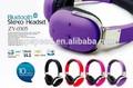 Profissional 2014 headband moda estilo de alta qualidade colorido pc mp3 telefone móvel uso sem fio bluetooth v4.0 fone de ouvido fone de ouvido