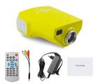 720p 1080p mini portable projetor white and black children educational machine led mini projector full hd 1080p