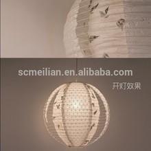 romantic handicraft modern art lanterns for home light