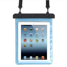 For tablet PC Sport Waterproof Bag Case, Factory plastic pvc waterproof bag for ipad touch clear transparent window