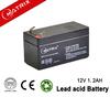 12V 1.2AH rechargeable VRLA battery