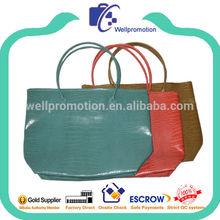 Wellpromotion branded design fashion ladies pu handbag