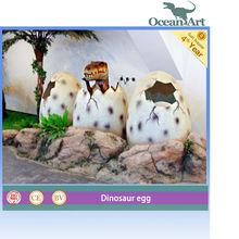 Hatching Dinosaur Realistic Fiberglass Dinosaur Egg