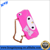 Kitty cat silicone handbag case for lady ,lady silicone handbag case for iphone 5 5s