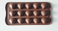Easy to fall off food grade silicone chocolate mold