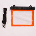 Universal waterproof case,For tablet Sport Waterproof Bag Case,Eco-friendly soft tpu waterproof bag for mini tablet with string