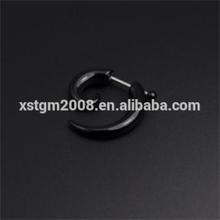 Fake Black Acrylic Spiral Cheater Stretcher body piercing jewelry