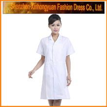 Female polycotton jersey dentist button pockets uniform supplier