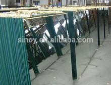 China Clear Silver / Aluminium Mirror Glass, Copper Free Mirror Glass, Safety Backed Mirror Glass for interior applications