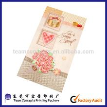China Regional Feature 2014 wedding invitation cards