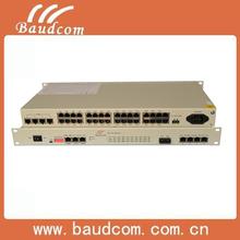 30 fxo/fxs /date(Ethernet,E1,RS232) over fiber modem