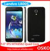 Original Landvo L800S 5.0inch 960X540p Touch Screen 1GB RAM 4GB ROM MTK6582 Quad core Smart Phone