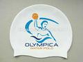 Customized silicone swimming cap