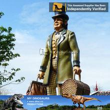 My Dino-Amusement park life size 6 ft. fiberglass cartoon statue
