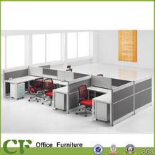 2013 6 seats L type office desk