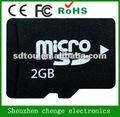 oem plena capacidade volume 2 gb micro sd card