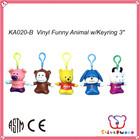 ICTI SEDEX factory cute style popular plush keychain toy custom
