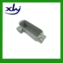 Dia-cast aluminium painted electrical conduit box