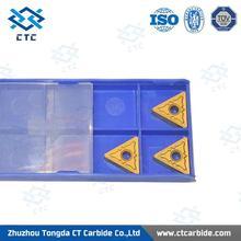 Hot Sale Zhuzhou CTC tungsten carbide needle holder insert Made in China