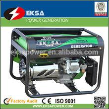 2kw Air cooled gasoline generator sets low noise gasoline generators honda generator for home and rental market.