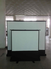 Floor Pull Up Projection Screen/Portable Floor Standing Projector Screen