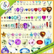مختلف التصاميم والألوان البلاستيكية للديكور جواهر