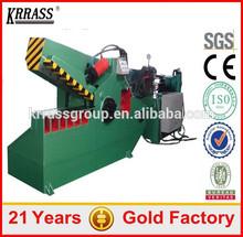 hydraulic alligator metal shears , alligator cutting machine for scrap metal