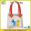 Custom logo pvc handbag for ladies