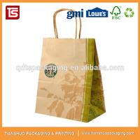 Factory Direct Cheap Price Kraft Brown Shopping Paper Bag