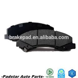 Spares parts break pads ceramic metalic platz de toyota brake pads for sale in China